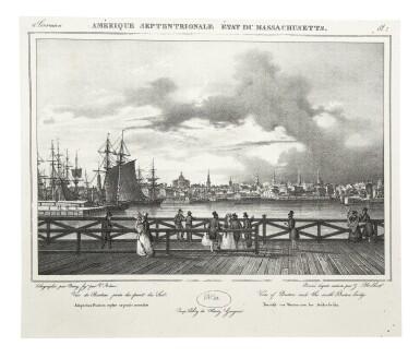 View 8. Thumbnail of Lot 225. Milbert, Jacques-Gérard |  An outstanding series of American views.