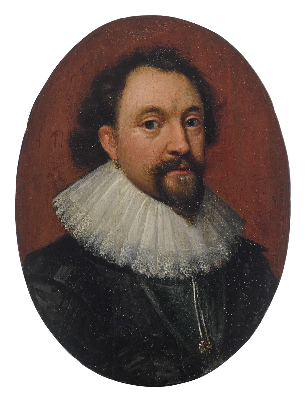 View full screen - View 1 of Lot 618. Portrait of William Herbert, 3rd Earl of Pembroke (1580 - 1630).