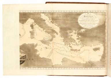 Mediterranean region, 11 volumes | Rev. C. Willyams, Earl of Sandwich, E.D. Clarke, Gell and Galt