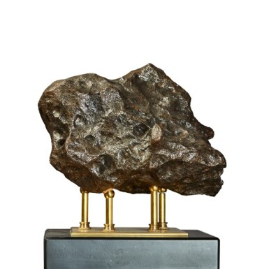 View 1. Thumbnail of Lot 1. Formed in Space 4-4.5 Billion Years Ago, Fell to Earth circa 2,200–2,700 BC | Campo del Cielo Meteorite.