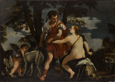 FOLLOWER OF VERONESE, CIRCA 1600 | Diana and Actaeon