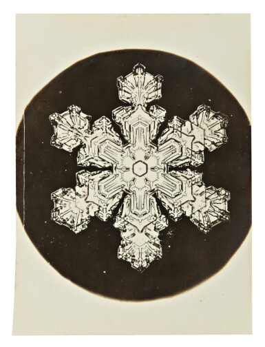View 9. Thumbnail of Lot 142. WILSON A. BENTLEY | SELECTED IMAGES OF SNOWFLAKES.