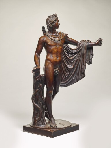 FRENCH, MID-17TH CENTURY, AFTER THE ANTIQUE | APOLLO BELVEDERE