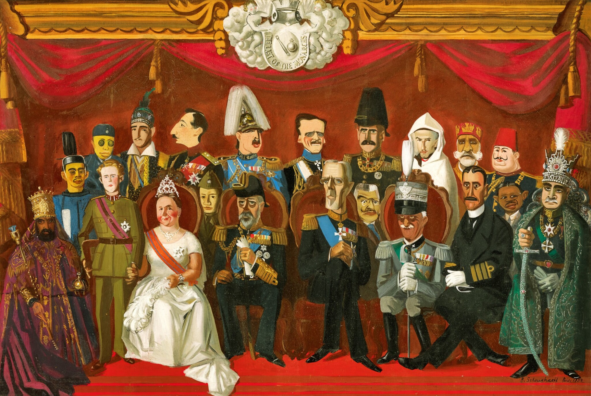 View full screen - View 1 of Lot 20. VASILY IVANOVICH SHUKHAEV | THE REIGNING MONARCHS OF THE WORLD.