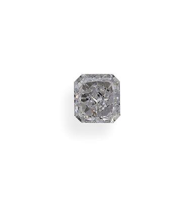 A 1.05 Carat Cut-Cornered Rectangular Modified Brilliant-Cut Diamond, F Color, Internally Flawless