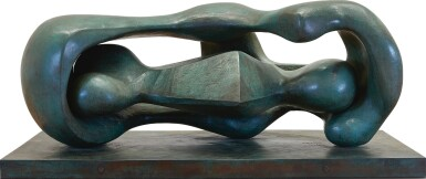HENRY MOORE | RECLINING CONNECTED FORMS