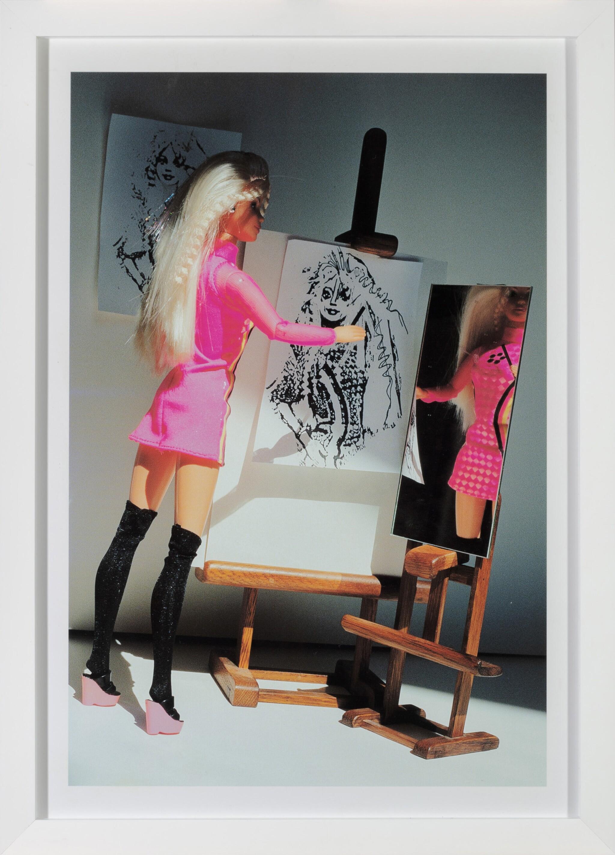 View full screen - View 1 of Lot 55. Barbie Self Portrait 2.