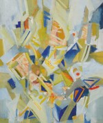 SUZY FRELINGHUYSEN   UNTITLED (ABSTRACT COMPOSITION)