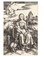 ALBRECHT DÜRER | THE VIRGIN AND CHILD WITH THE MONKEY (B. 42; M, HOLL. 30)
