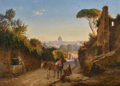 ANTON IVANOVICH IVANOV | ON THE OUTSKIRTS OF ROME
