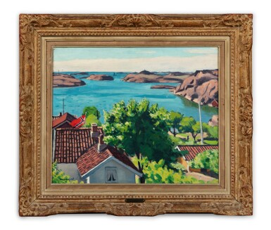 View 2. Thumbnail of Lot 231. Paysage à Hesnes, Norvège .