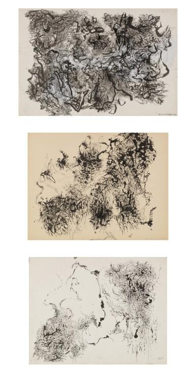 Bernard Schultze | Sans Titre [3 oeuvres]