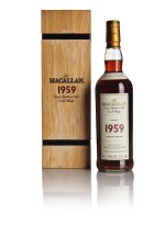 THE MACALLAN FINE & RARE 43 YEAR OLD 46.7 ABV 1959