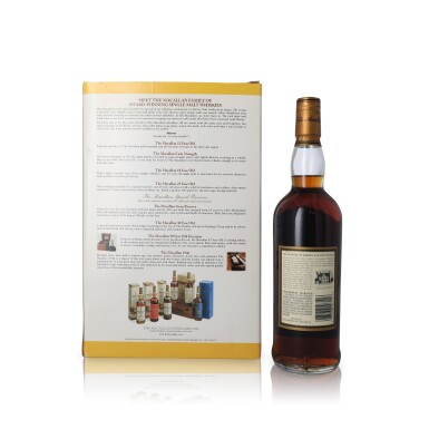 View 2. Thumbnail of Lot 24. The Macallan 15 Year Old 43.0 abv 1985 (1 BT75).