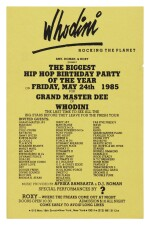 [VARIOUS ARTISTS] | COLLECTION OF 12 HIP HOP FLYERS, 1985-1992.