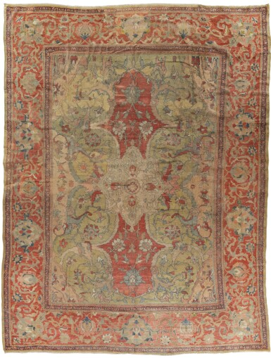View 1. Thumbnail of Lot 94. A 'ZIEGLER' MAHAL CARPET, NORTHWEST PERSIA.