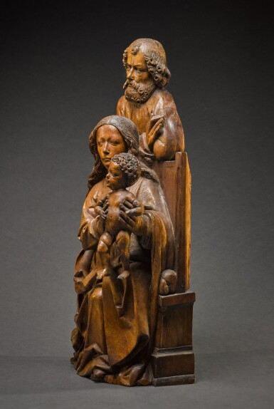 View 4. Thumbnail of Lot 9. WORKSHOP OF TILMAN RIEMENSCHNEIDER  | THE HOLY FAMILY.