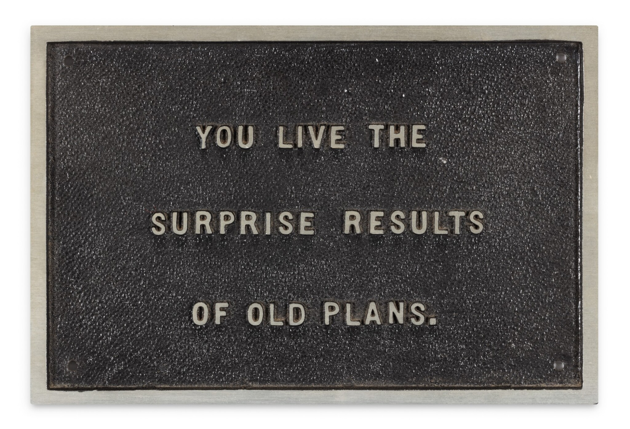 View full screen - View 1 of Lot 216. i : You Live the Surprise Results of Old Plans (from The Survival Series) ii : Truism stamps set.