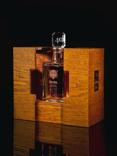 View 3. Thumbnail of Lot 385. BRORA LIMITED EDITION 40 YEAR OLD 59.1 ABV 1972   .