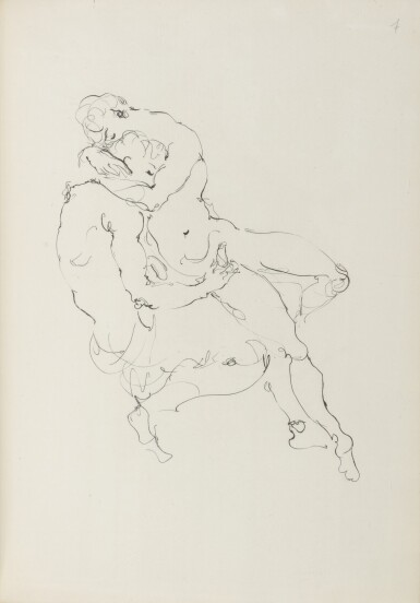 View 4. Thumbnail of Lot 12. JEAN GENET AND LEONOR FINI | LA GALÈRE. (PARIS: PRINTED FOR THE AUTHOR BY JACQUES LOYAU) 1947.