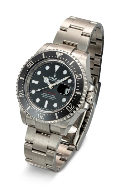 View 2. Thumbnail of Lot 606. ROLEX | SEA-DWELLER, REFERENCE 126600,  A STAINLESS STEEL WRISTWATCH WITH DATE AND BRACELET, CIRCA 2019.