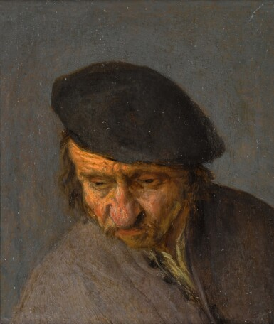 View 1 of Lot 152. A man wearing a black cap.