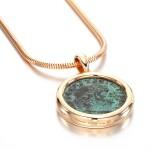 Coin necklace, 'Monete'