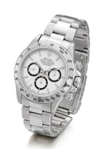 ROLEX | COSMOGRAPH DAYTONA, REFERENCE 16520, A STAINLESS STEEL CHRONOGRAPH WRISTWATCH WITH BRACELET, CIRCA 1996