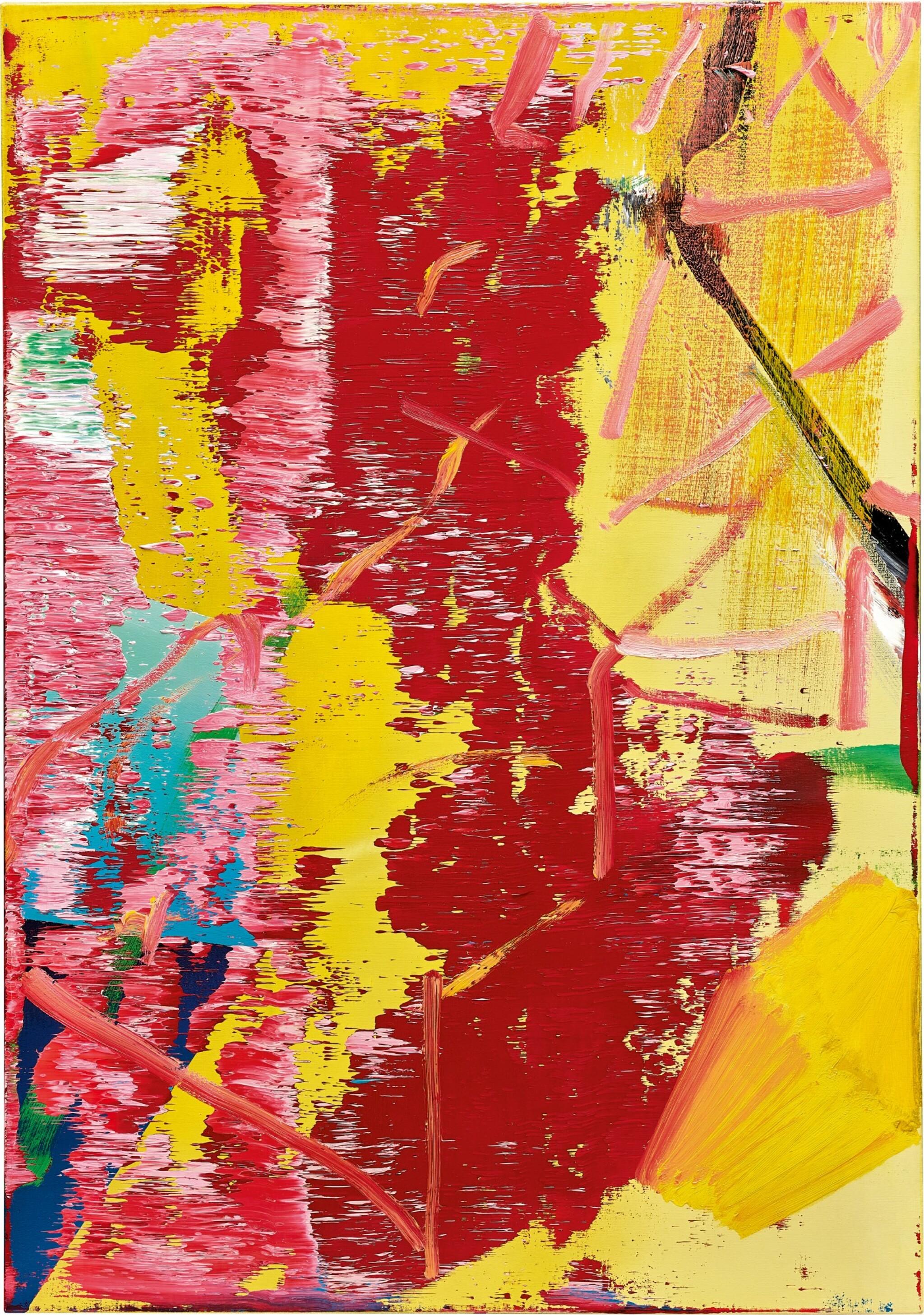 View full screen - View 1 of Lot 28. Gerhard Richter 格哈德・里希特 | Abstraktes Bild 抽象畫.