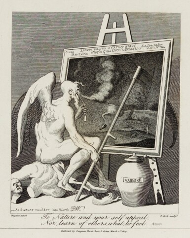 View 1. Thumbnail of Lot 126. HOGARTH, WILLIAM | THE WORKS. 1821, 2 VOLUMES.