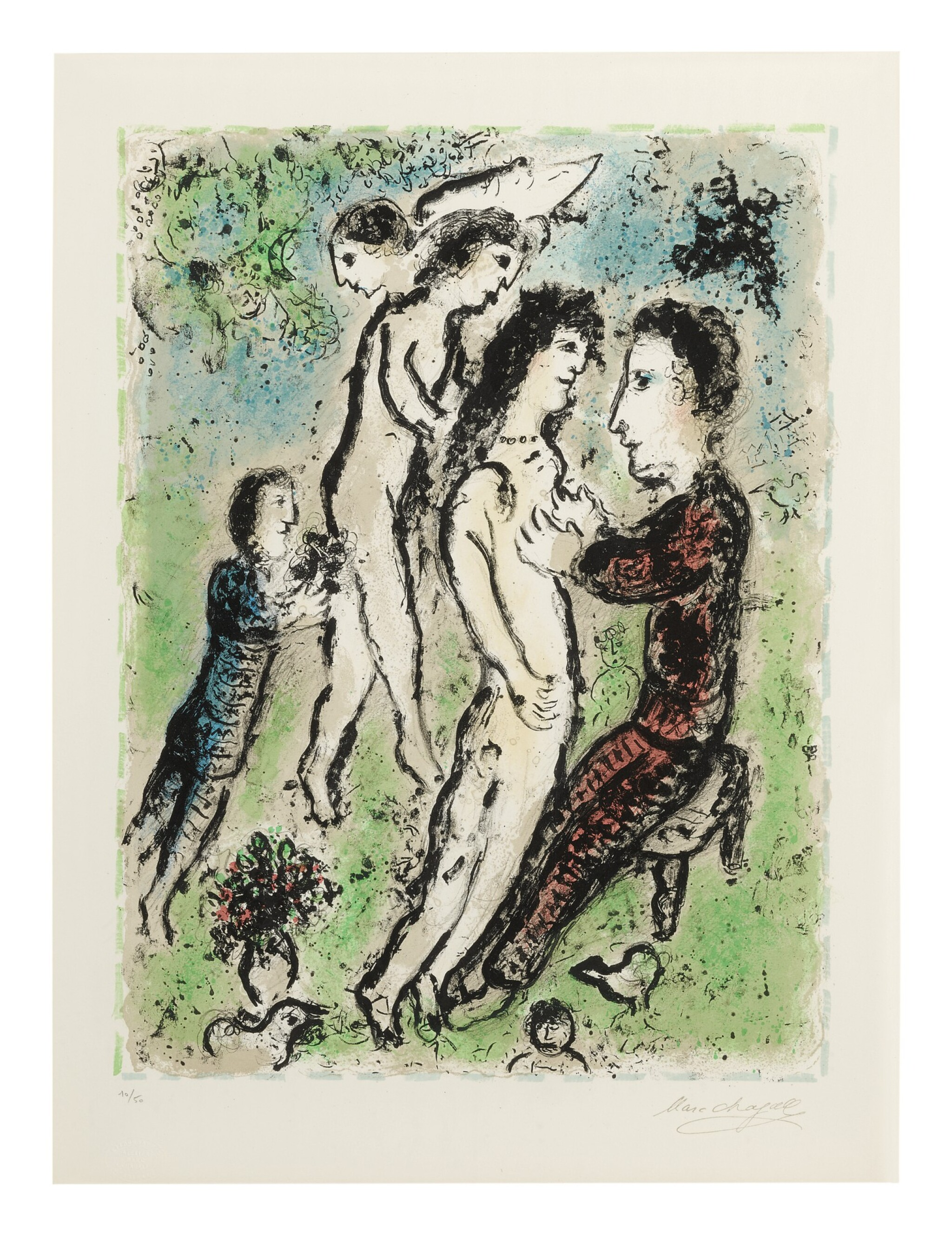 View full screen - View 1 of Lot 61. MARC CHAGALL | YOUTH (M. 1048).