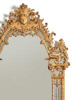A RÉGENCE CARVED AND GILTWOOD MIRROR, CIRCA 1720