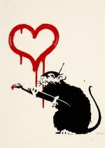 BANKSY |  LOVE RAT