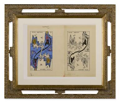 View 2. Thumbnail of Lot 4. GORDON ONSLOW-FORD   PETER IBBETSON—LA JEU DE MARSEILLES.