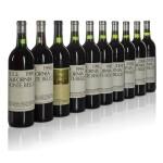 Ridge Cabernet Sauvignon, Monte Bello, 10 vintages