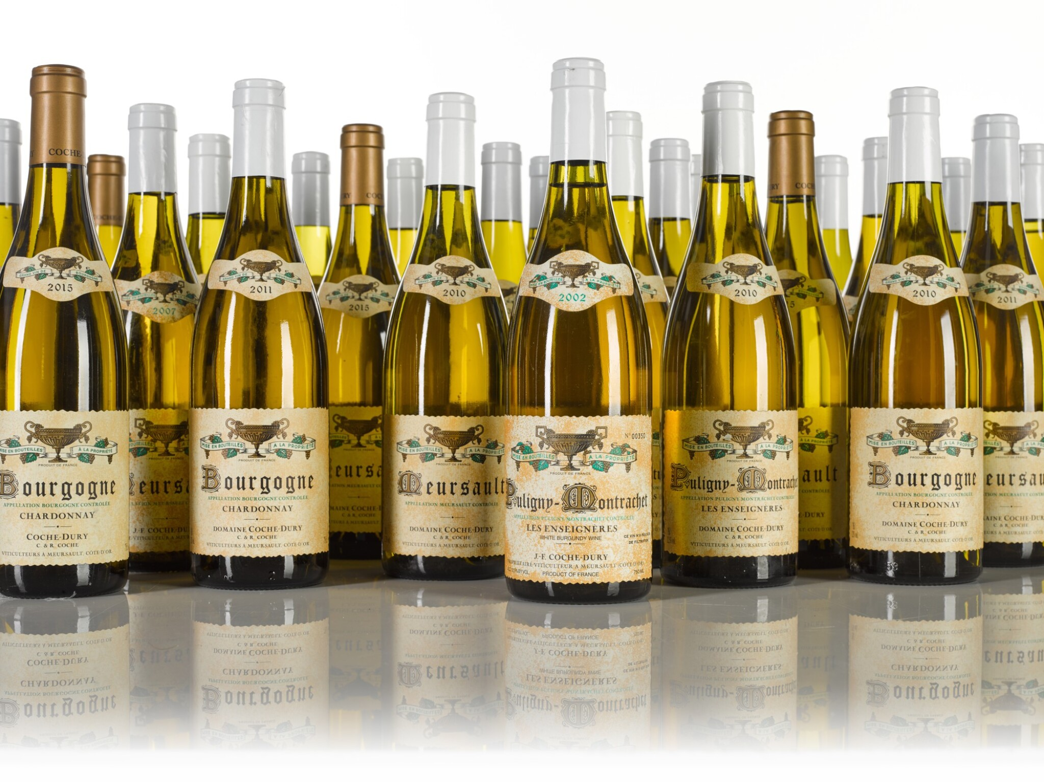 View full screen - View 1 of Lot 279. Bourgogne Chardonnay from J.-F. Coche-Dury, mixed case (11 BT).