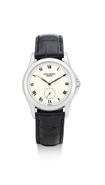 PATEK PHILIPPE | REFERENCE 5115, A WHITE GOLD WRISTWATCH WITH ENAMEL DIAL, MADE IN 2005