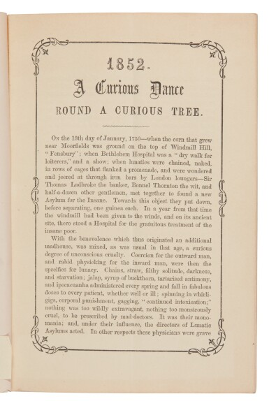Dickens, A Curious Dance round a Curious Tree, [1860], first edition, second issue