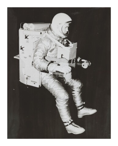 View 4. Thumbnail of Lot 8. [SPACESUIT TESTING]. ARCHIVE OF PHOTOGRAPHS DOCUMENTING SPACESUIT TESTING, CA 1958-1975.