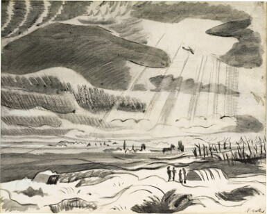 View 1. Thumbnail of Lot 613. PAUL NASH | AERIAL RECONNAISSANCE.