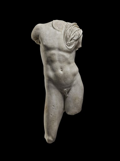 View 1. Thumbnail of Lot 69. A Roman Marble Torso of a Youth, circa 1st Century A.D..