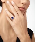 SAPPHIRE AND DIAMOND RING, GRAFF