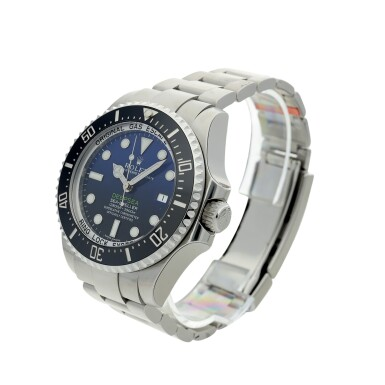 View 2. Thumbnail of Lot 96. REFERENCE 116660 DEEP-SEA A STAINLESS STEEL WRISTWATCH WITH DATE AND BRACELET, MADE TO COMMEMORATE JAMES CAMERON'S DEEPSEA CHALLENGE, CIRCA 2017.