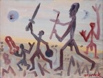 A. R. PENCK   THE VIKINGS ARE COMING