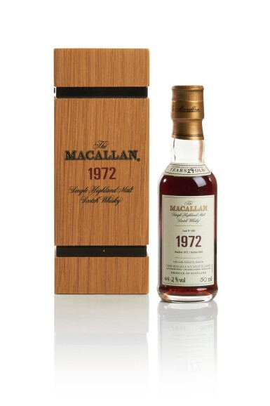 THE MACALLAN FINE & RARE 29 YEAR OLD 49.2 ABV 1972