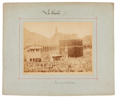 View 3. Thumbnail of Lot 103. Mecca-after Muhammad Sadiq Bey | A collection of seven photographs of Mecca, circa 1880s.