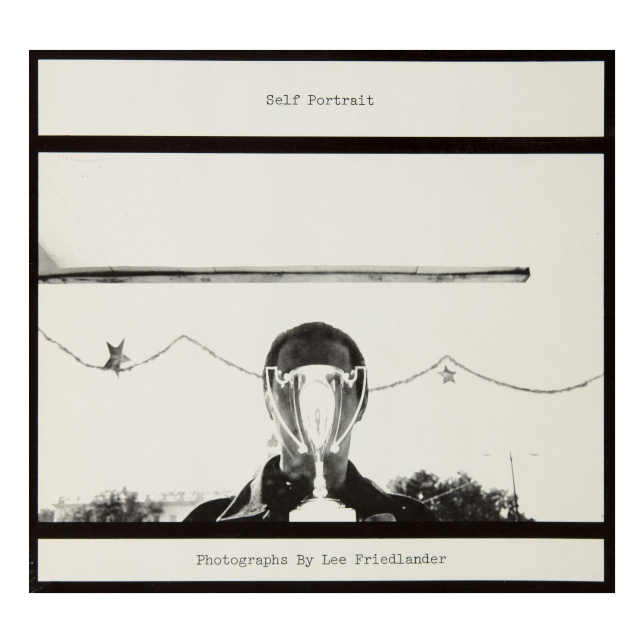LEE FRIEDLANDER | 'SELF-PORTRAIT: LEE FRIEDLANDER' (INSCRIBED TO ARNOLD CRANE)