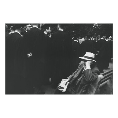 ROBERT FRANK | YALE COMMENCEMENT – NEW HAVEN GREEN, NEW HAVEN, CONNECTICUT