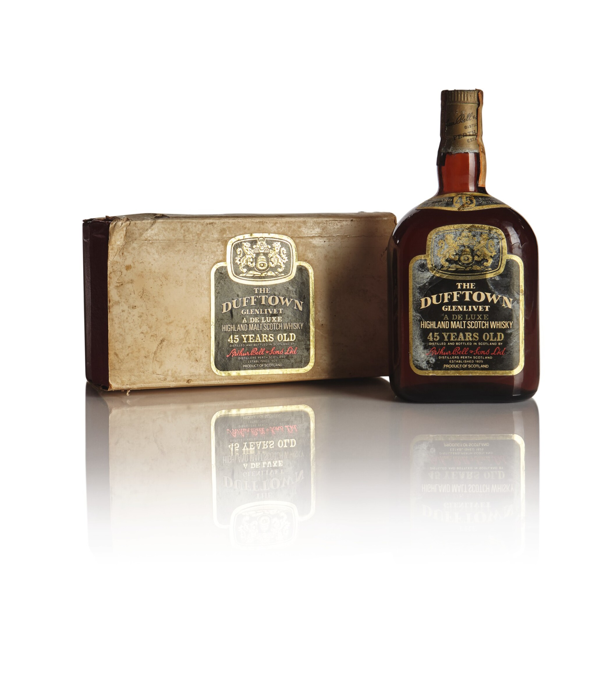 View full screen - View 1 of Lot 206. DUFFTOWN GLENLIVET 45 YEAR OLD 45.3 ABV NV .