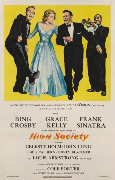 HIGH SOCIETY (1956) POSTER, US